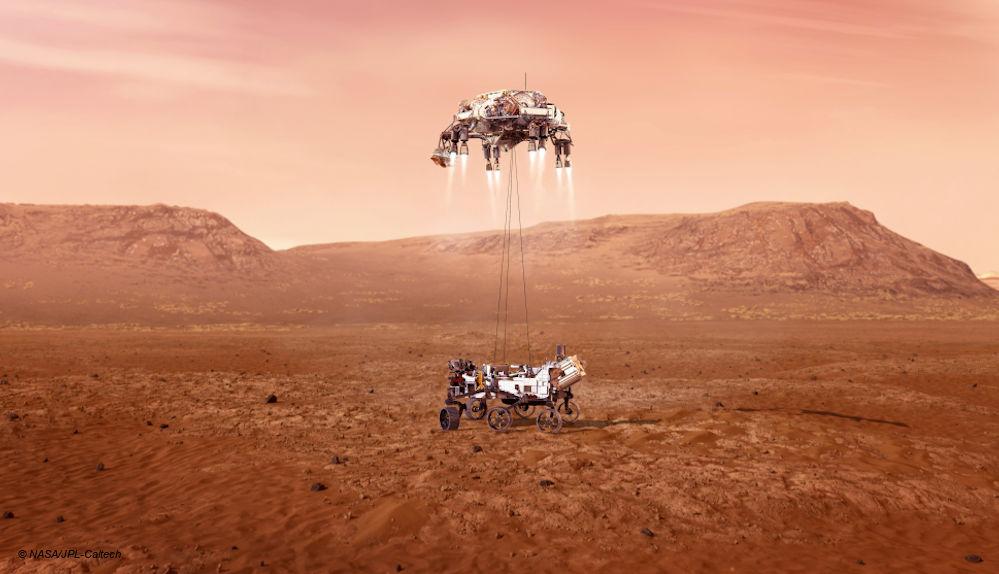 NASA Mars Perseverance