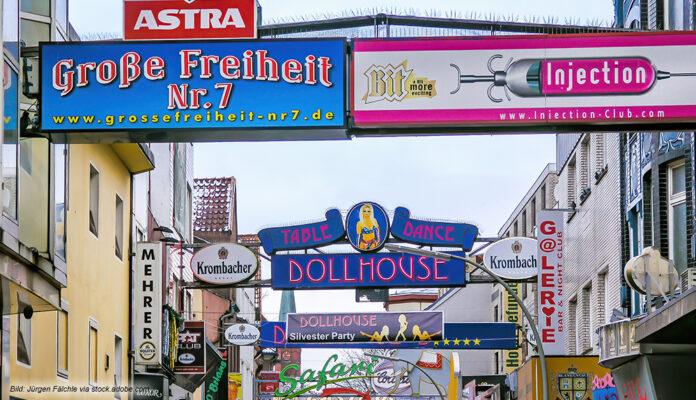 Das Amüsierviertel in Hamburg