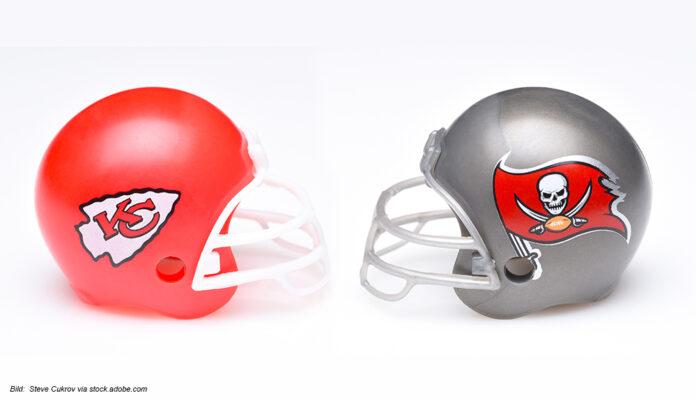 Super Bowl LV: Kansas City Chiefs gegen Tampa Bay Buccaneers