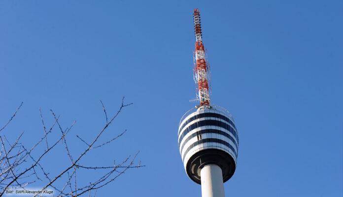 Der SWR Fernsehturm in Stuttgart