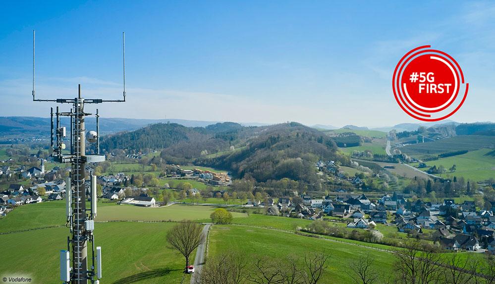 Vodafone aktiviert heute tausende 5G-Antennen - Digitalfernsehen.de