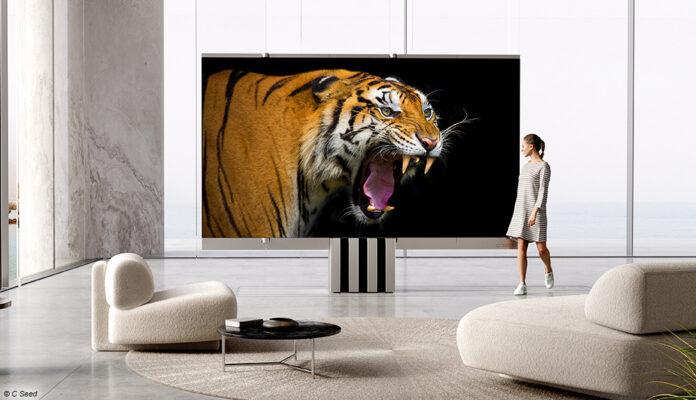 C SEED M1 - ein faltbarer 165-Zoll-TV, der so viel kostet wie ein Haus