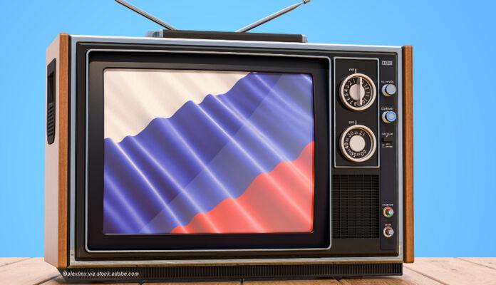 Russland Fernseher