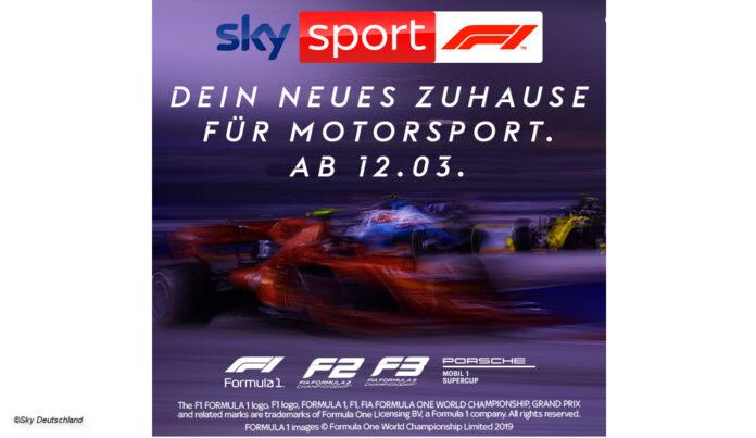 Sky Sport F1 Sendestart