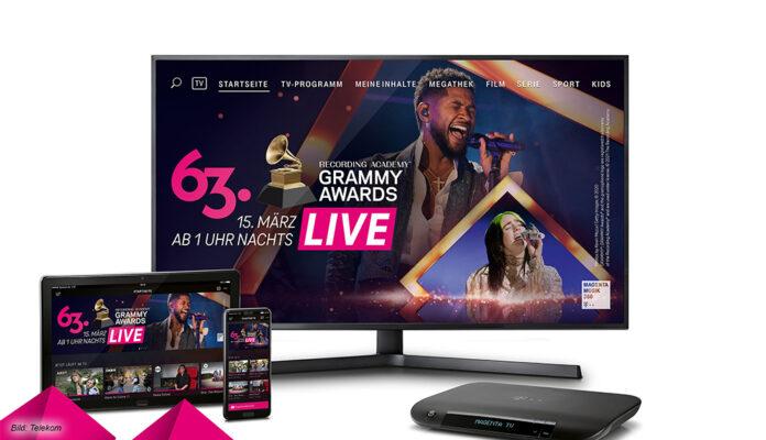 Die 63. Grammy Awards bei MagantaTV auf MagentaMusic360 und im Livestream