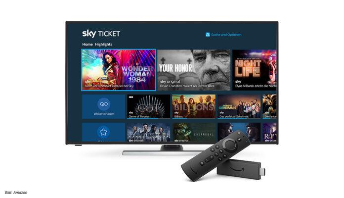 Sky Ticket jetzt auf Fire TV geräten