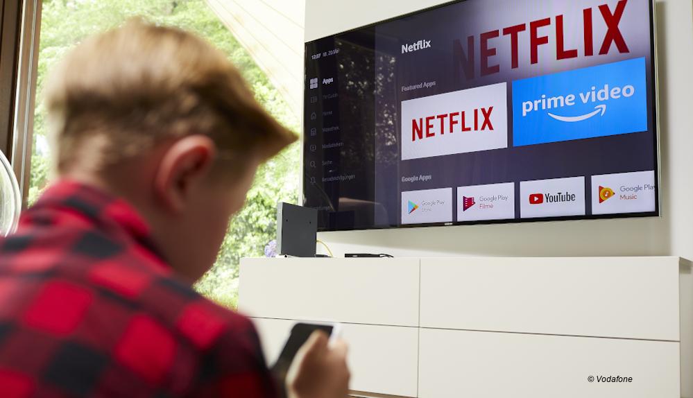 Mehr Komfort: Vodafone und Netflix erweitern Zusammenarbeit - - Digitalfernsehen.de