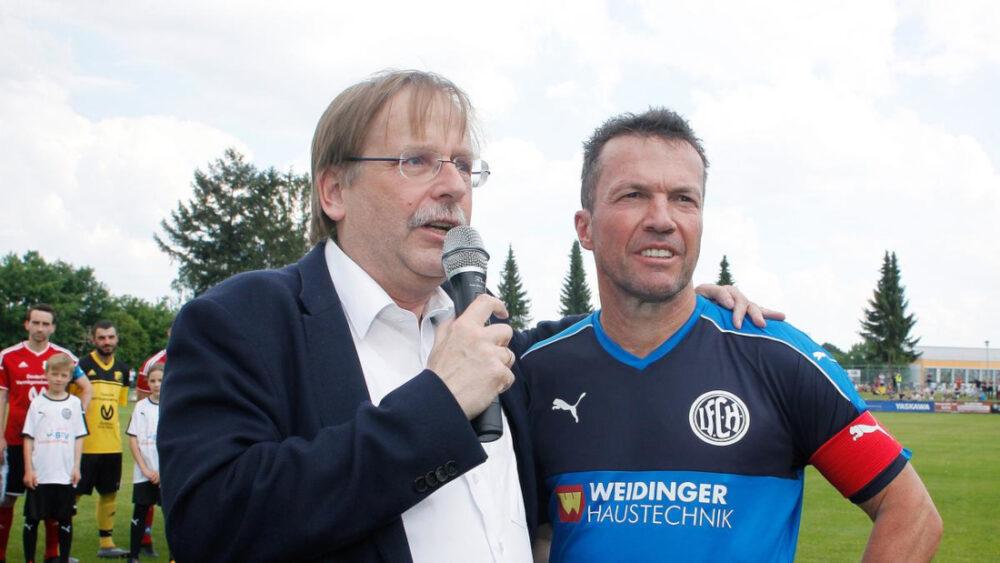 Rainer Koch und Lothar Matthäus