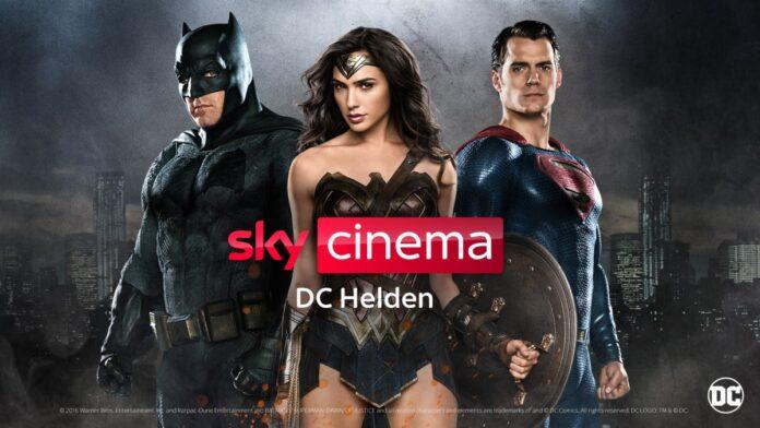 Sky Cinema DC Helden – ein neuer Pop Up-Sender bei Sky