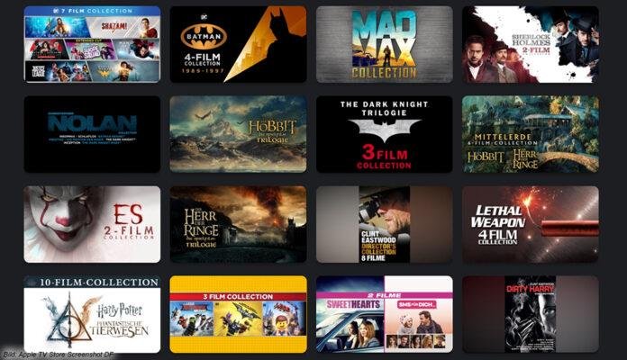 Apple TV bietet Film-Bundles reduziert an