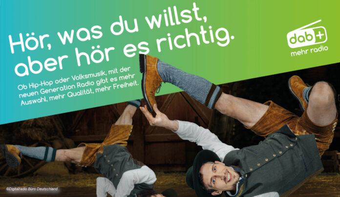 DAB Plus DAB+ Kampagne