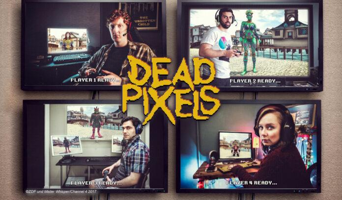 Dead pixels ZDFneo Channel 4