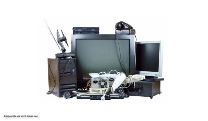 Elektrogeräte-Schrott ©geografika via stock.adobe.com
