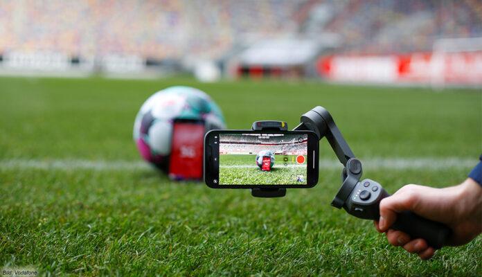 Das Vodafone 5G Standalone im Einsatz bei der Fußball-Bundesliga im TV