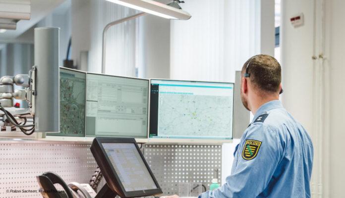 Polizei Sachsen Notrufzentrale