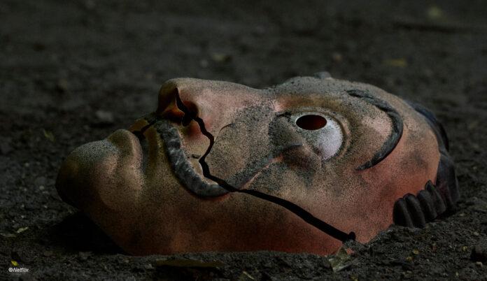 Haus des Geldes Maske ©Netflix