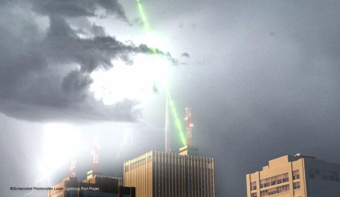 Laser Lightning Rod Project