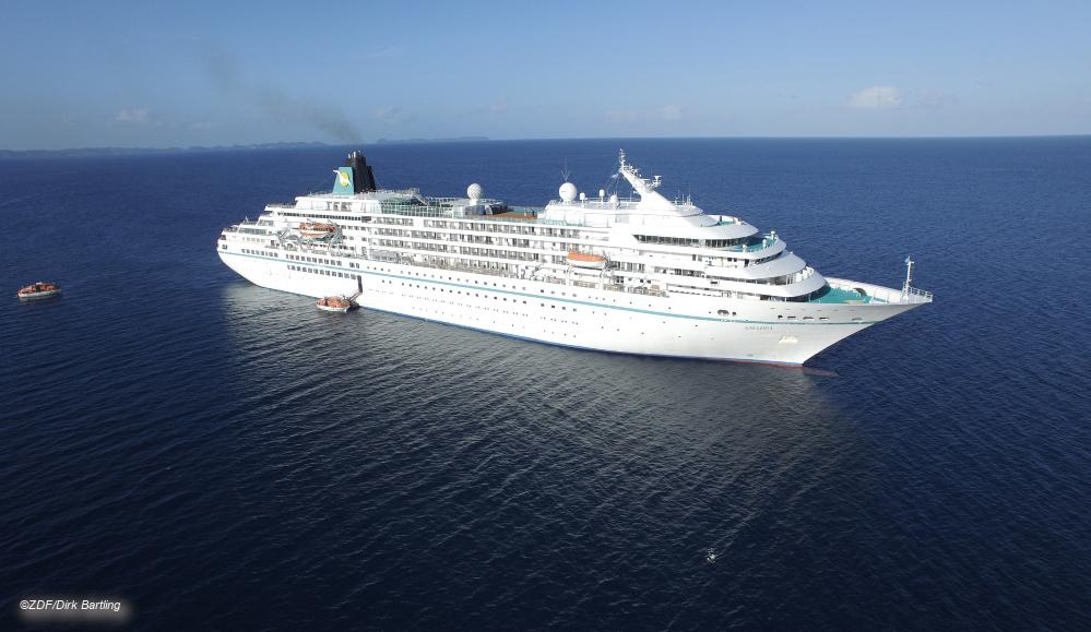 Das Traumschiff MS Amadea © ZDF/Dirk Bartling