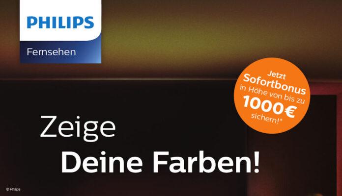 Philips Aktion Zeige deine Farben EM
