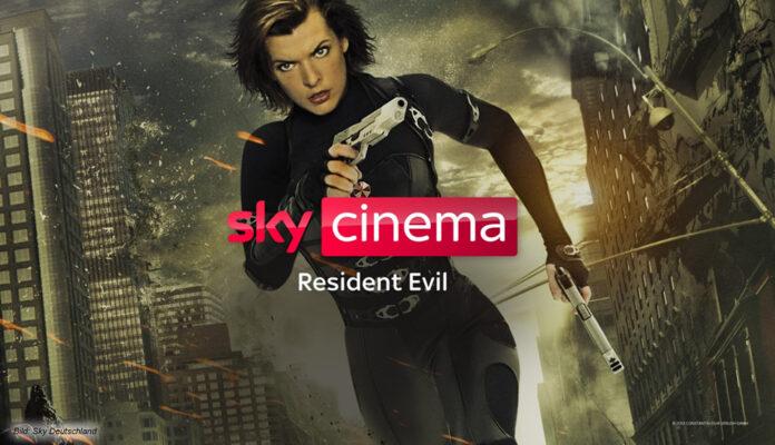 Sky Cinema Resident Evil – Milla Jovovich