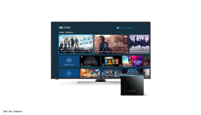 Sky Ticket jetzt auch auf FireTV Cube und anderen FireTV-Geräten