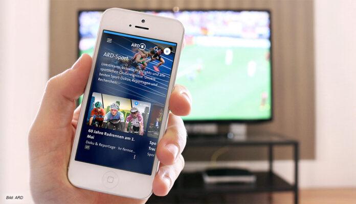 Die Themenwelt Sport in der ARD-Mediathek