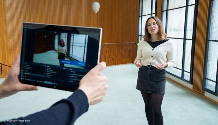 WDR, Live-Fuehrung digital