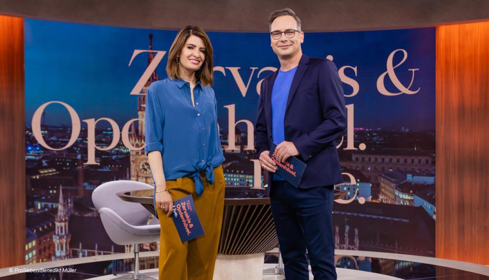 Zervakis Opdenhövel Live auf Prosieben