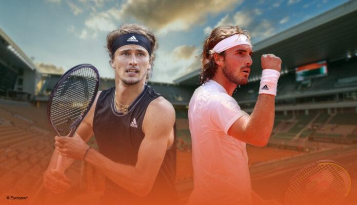 Zverev Tsitsipas Roland Garros