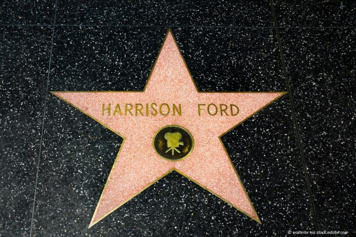 harrison ford walk of fame stern © wolterke via stock.adobe.com