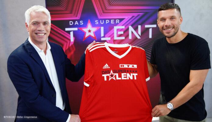 Lukas Podolski Supertalent Henning Tewes