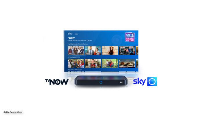 TV Now und Sky Q