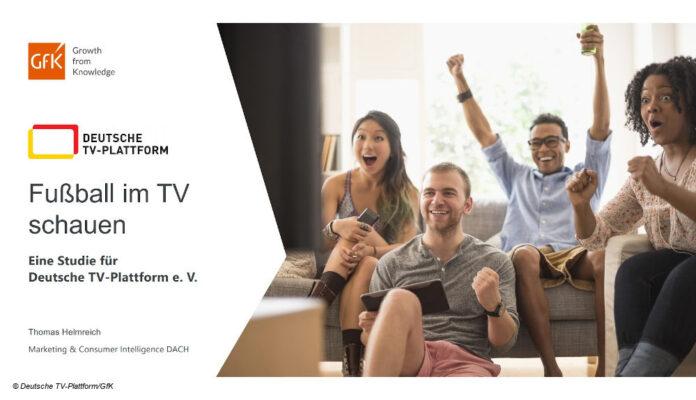Studie Live Sport TV GfK Deutsche TV-Plattform