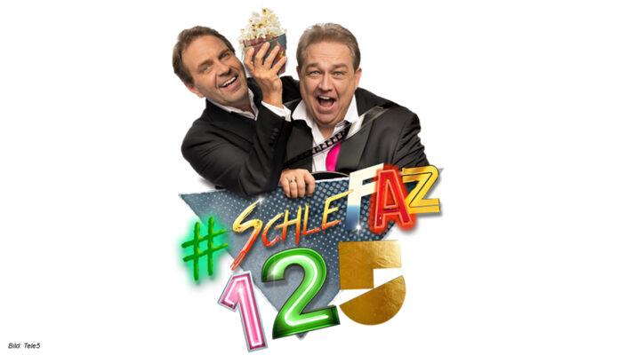 Oliver Kalkofe und Peter Rütten präsentieren SchleFaZ 125 bei Tele5