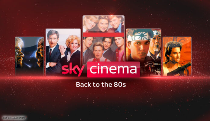 Sky Back to the 80s - ein Pop Up Channel voller 80er-Kultfilme