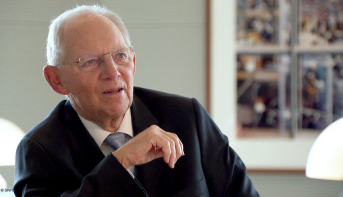 Wolfgang Schäuble bei lesenswert SWR