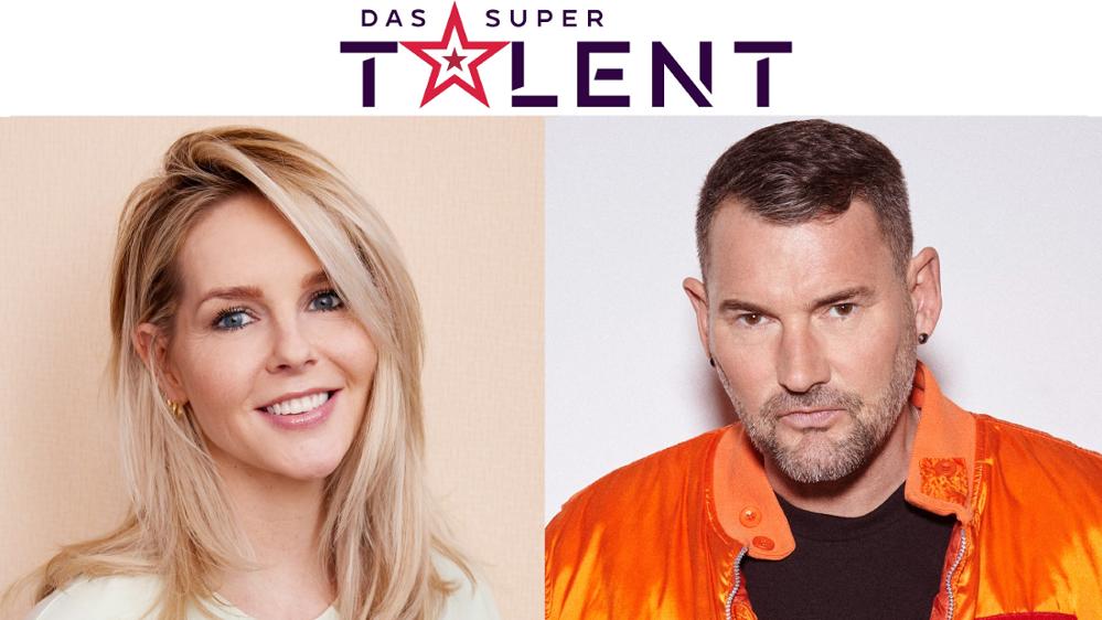 neue Supertalent-Juroren Foto: Roger Neve und Daniela Müller Brunke