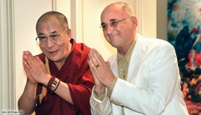 Alfred Biolek und der Dalai Lama Boulevard Bio