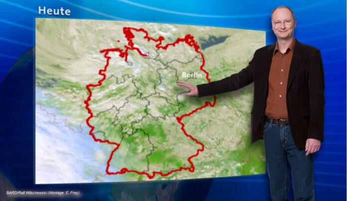 Sven Plöger Wetter im Ersten © ARD/Ralf Wilschewski (Montage: E. Frey)