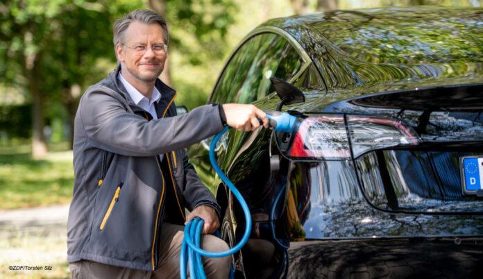 Andreas Klinner zdf Elektroauto ©ZDF/Torsten Silz