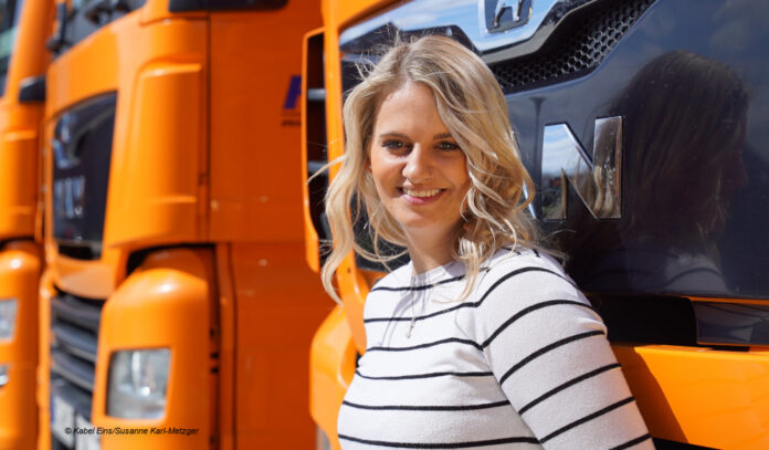 Kabel Eins Trucker Babe Lisa aus Oldenburg