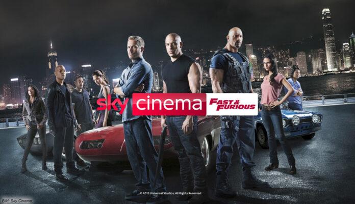 "Alle ""Fast & Furious""-Filme bei Sky Ticket, Sky Cinema Fast & Furious kommt bald"