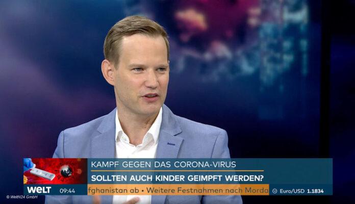 Prof. Hendrik Streeck bei Welt