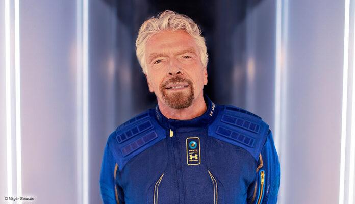Richard Branson und sein Raumfahrt-Unternehmen