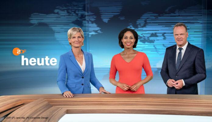 ZDF heute Nachrichten neues Design