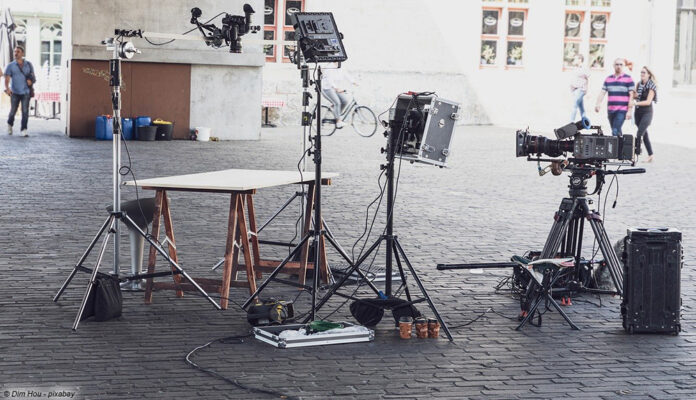 Filmset Aufnahmetechnik