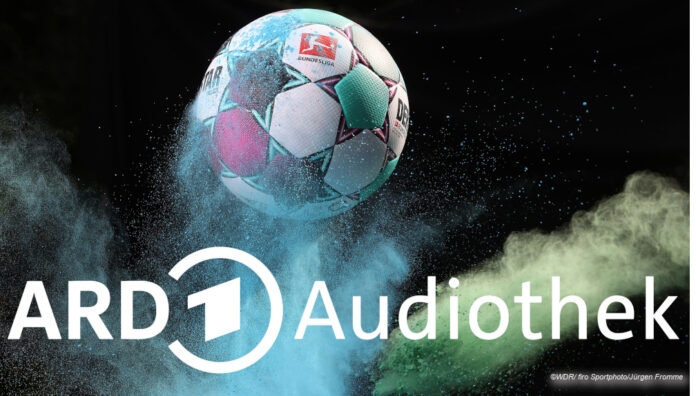 ARD Audiothek Bundesliga © WDR/ firo Sportphoto/Jürgen Fromme
