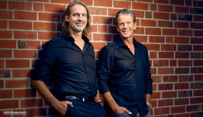 David Precht und Markus Lanz Bromance Foto: Christian Bruch