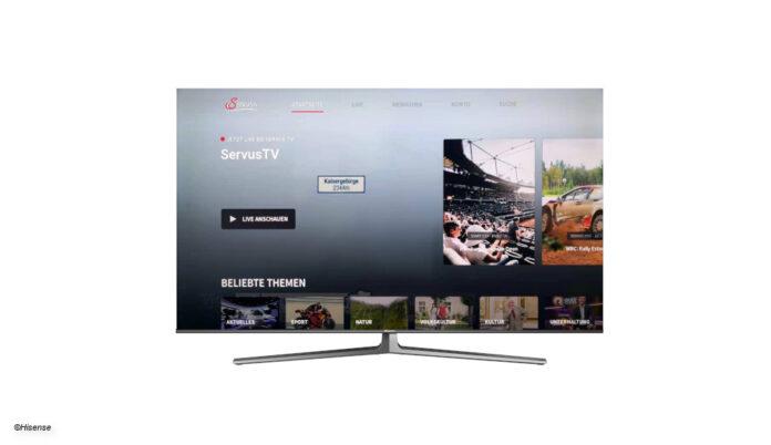 Servus TV App auf Hisense Smart-TV © Hisense