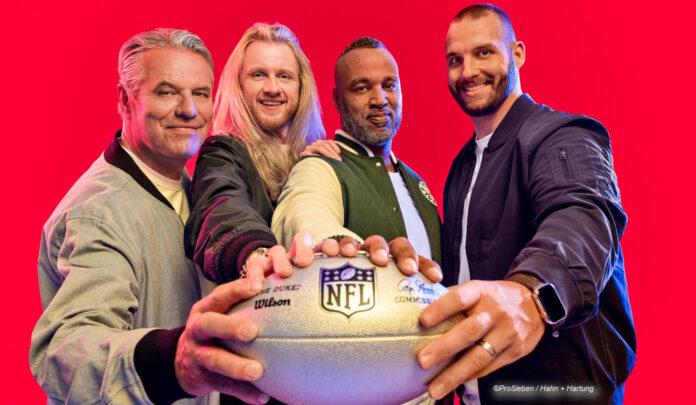 NFL Saisonstart auf ProSieben ran-NFL-Team ©ProSieben / Hahn + Hartung